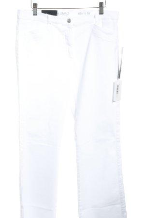 Betty Barclay Slim Jeans weiß Jeans-Optik