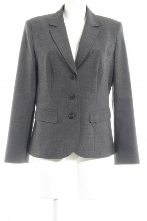 Betty Barclay Smoking-Blazer dunkelgrau Glencheckmuster Business-Look