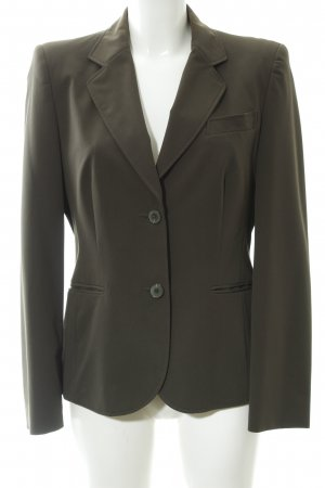 Betty Barclay Blazer smoking grigio-verde stile professionale