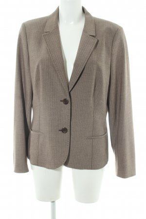 Betty Barclay Smoking-Blazer hellbraun Zackenmuster Business-Look