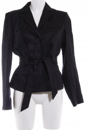 Betty Barclay Smoking-Blazer schwarz Casual-Look