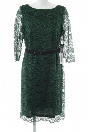 Betty Barclay Vestido de encaje verde-verde oscuro estampado floral elegante