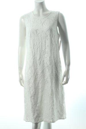 Betty Barclay Spitzenkleid weiß florales Muster klassischer Stil