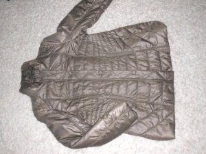 Betty Barclay Quilted Coat grey brown