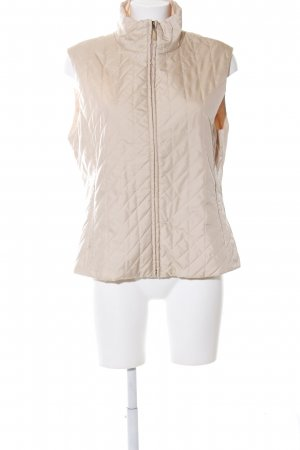 Betty Barclay Quilted Gilet cream quilting pattern casual look