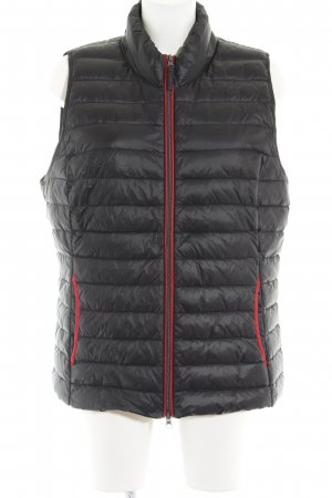 Betty Barclay Quilted Gilet black casual look