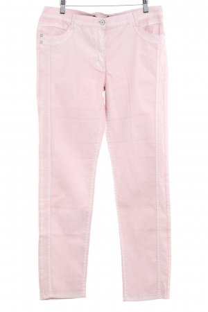 Betty Barclay Pantalone jersey rosa antico stile romantico