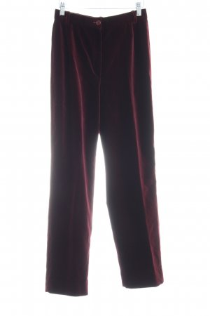 Betty Barclay Pantalone jersey bordeaux stile casual