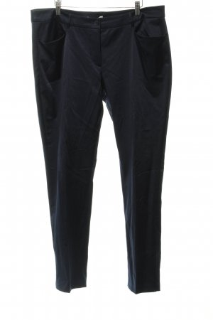 Betty Barclay Pantalone jersey blu scuro stile professionale