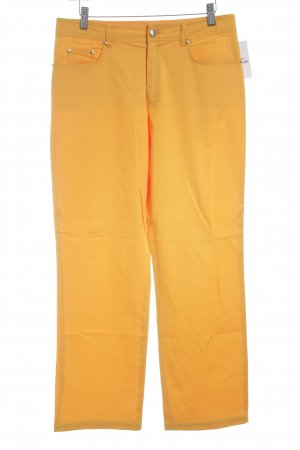 Betty Barclay Straight-Leg Jeans hellorange extravaganter Stil