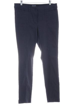 Betty Barclay Pantalón elástico azul oscuro estilo «business»