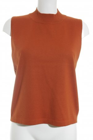 Betty Barclay Gebreide twin set donker oranje elegant