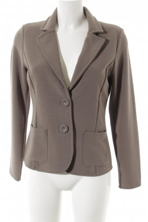 Betty Barclay Blazer en maille tricotée taupe