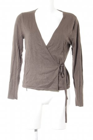 Betty Barclay Strickjacke graubraun Casual-Look
