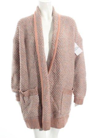 Betty Barclay Strickjacke roségoldfarben-grau klassischer Stil