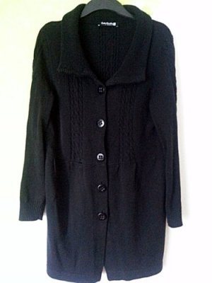 Betty Barclay Strickjacke schwarz Gr 44 46