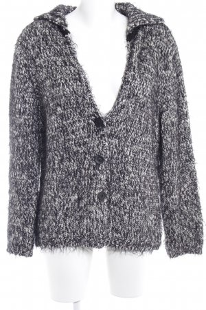 Betty Barclay Strickjacke schwarz-weiß Casual-Look