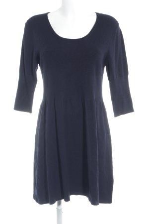Betty Barclay Strickkleid dunkelblau schlichter Stil