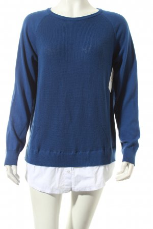 Betty Barclay Strickpullover blau Casual-Look