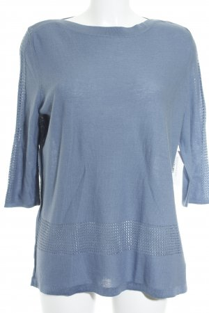 Betty Barclay Strickpullover graublau Business-Look