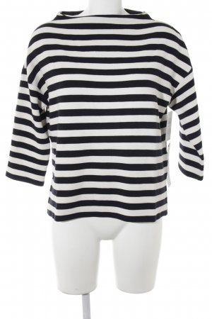 Betty Barclay Jersey de punto negro-blanco puro estampado a rayas look casual