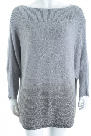 Betty Barclay Strickpullover silberfarben Casual-Look