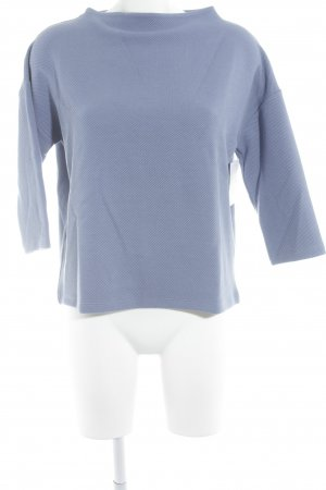 Betty Barclay Jersey de punto azul acero Patrón de tejido look casual