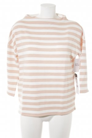 Betty Barclay Jersey de punto blanco puro-albaricoque estampado a rayas