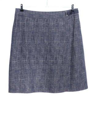 Betty Barclay Falda de punto gris claro Patrón de tejido estilo «business»