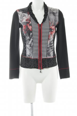 Betty Barclay Sweatjacke abstraktes Muster Casual-Look