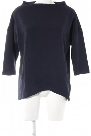 Betty Barclay Sweatshirt dunkelblau Casual-Look