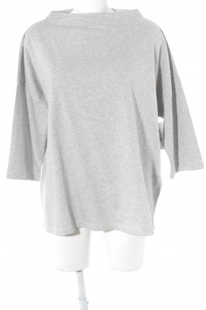 Betty Barclay Sweatshirt hellgrau meliert Casual-Look