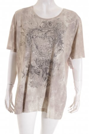 Betty Barclay T-Shirt beige-hellbeige Kunstmuster Casual-Look