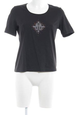 Betty Barclay T-shirt zwart casual uitstraling