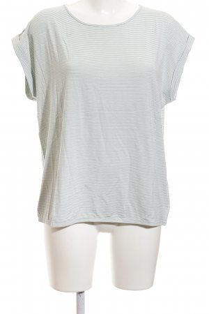 Betty Barclay T-Shirt wollweiß-graugrün Streifenmuster Casual-Look
