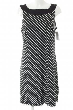 Betty Barclay Vestido tipo overol azul oscuro-blanco estampado floral
