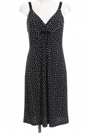 Betty Barclay Overgooier zwart-wit gestippeld patroon casual uitstraling