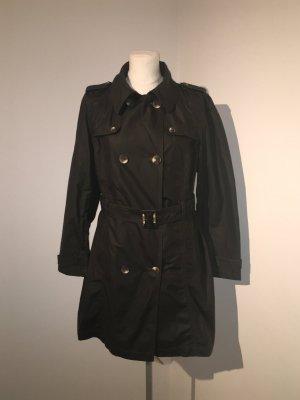 Betty Barclay Trenchcoat Gr. 42 grün schwarz