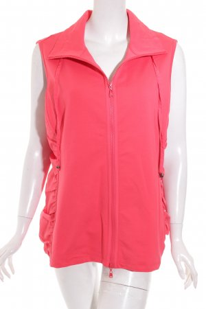 Betty Barclay Weste pink Materialmix-Look