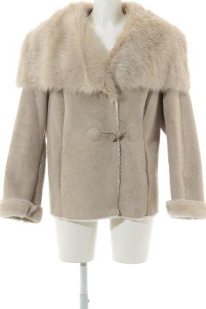 Betty Barclay Chaqueta de invierno crema-beige mullido