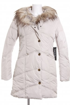 Betty Barclay Cappotto invernale beige chiaro-marrone-grigio stile casual