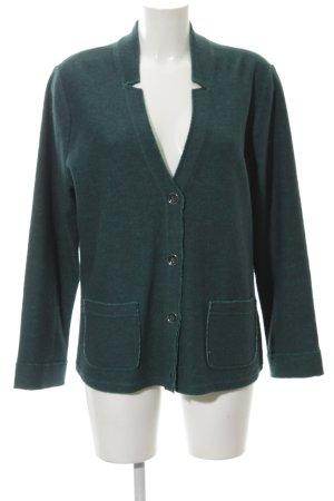 Betty Barclay Woll-Blazer grün schlichter Stil