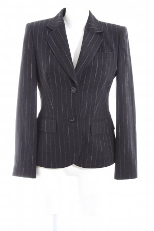 Betty Barclay Woll-Blazer blau-weiß Streifenmuster Business-Look