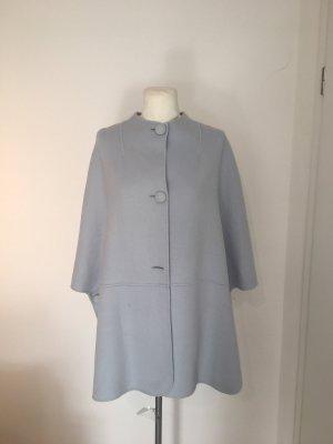 Betty Barclay Woll-Poncho Cape Gr.XL NEU blau Gr.46/48 Jacke