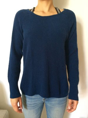Betty Barclay Jersey de lana azul oscuro