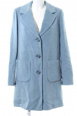 Betty Barclay Wollmantel blau Business-Look