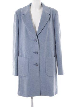 Betty Barclay Wollmantel blassblau schlichter Stil