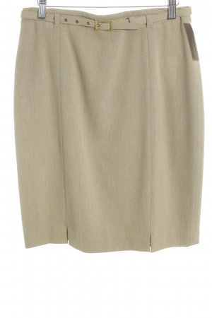 Betty Barclay Wollen rok zandig bruin elegant