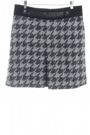 Betty Barclay Wool Skirt black-light grey abstract pattern casual look