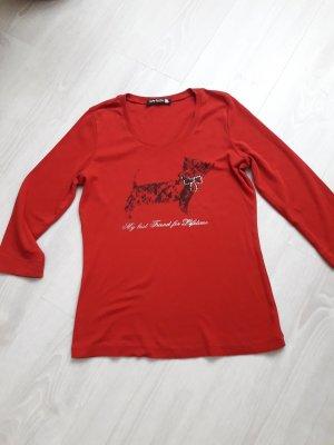 Betty Barcley 3 /4 Arm Shirt rot Größe 36-38